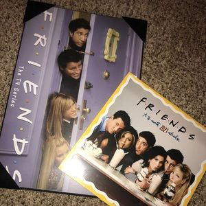 Friends tv show Calendar and picture wall art